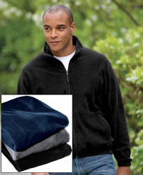 Custom imprinted Port & Company Value Fleece Jacket