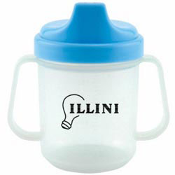Custom imprinted 7 oz Non Spill Baby Cup