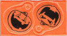 Custom imprinted Halloween Lace-Tags