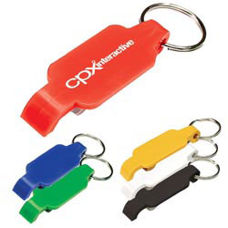 Custom imprinted Bottle Opener Key Chain