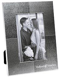 Custom imprinted Quadrant Photo Frame 4 x 6