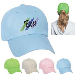 Custom imprinted Ladies Cap - Embroidered
