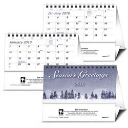 Custom imprinted Econo Desk Calendar