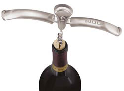 Custom imprinted Bordeaux Corkscrew/Bottle Opener