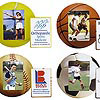 Sports Ball Photo Frame Magnet