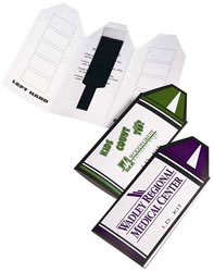 Custom imprinted Crayon I.D. Kit