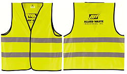 Custom imprinted Reflective Safety Vest