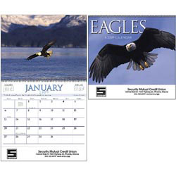 Custom imprinted Eagles Calendar