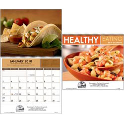 Custom imprinted Healthy Eating Calendar