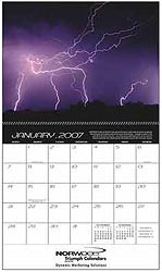 Custom imprinted Forces of Nature Calendar