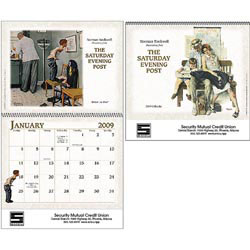 Custom imprinted The Saturday Evening Post Calendar