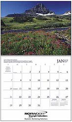 Custom imprinted National Parks Calendar