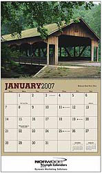 Custom imprinted Bridges  Calendar