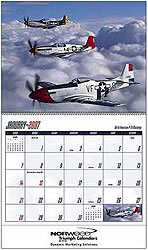 Custom imprinted Planes Calendar
