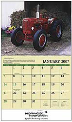 Custom imprinted Antique Tractors Calendar