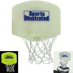 Custom imprinted Mini Basketball Hoop