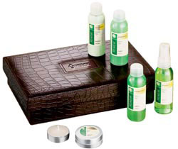 Custom imprinted Essential Renew Spa Set