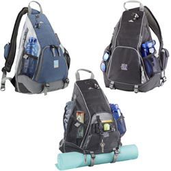 Custom imprinted High Sierra Metra Daypack