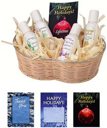 Custom imprinted Lotion Gift Set