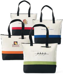 Custom imprinted Regatta Race Tote