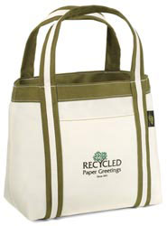 Custom imprinted Recycled Piccolo Mini Tote
