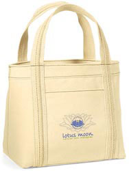 Custom imprinted Organic Piccolo Mini Tote
