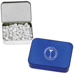 Custom imprinted Large Rectangle Mints Holder