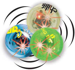 Custom imprinted Blinking Multi-Sound Balls
