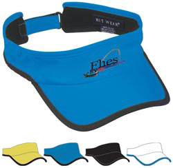 Custom imprinted Hit-Dry Visor - Embroidered