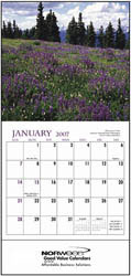 Custom imprinted Landscapes of America Mini Calendar