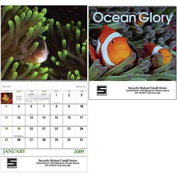 Custom imprinted Ocean Glory Calendar