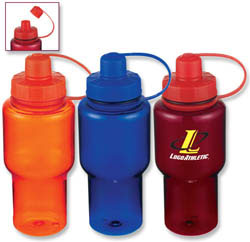 Custom imprinted 27-oz. Polycarbonate Bottle