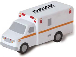 Custom imprinted Ambulance Stress Reliever