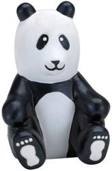 Custom imprinted Panda Stress Reliever