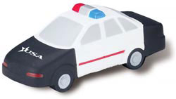Custom imprinted Police Car Stress Reliever