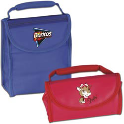 Custom imprinted CLOSEOUT Ice Roll-up Lunch Bag