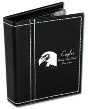Custom imprinted Photo Album with Double Stitched Cover