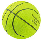 Custom imprinted Rubber Basketball