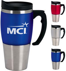 Custom imprinted Heavyweight Travel Mug