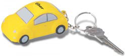 Custom imprinted Car Key Chain Stress Reliever