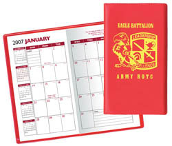 Custom imprinted Academic Monthly Pocket Planner