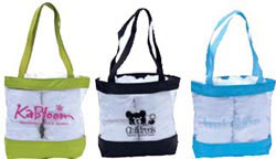 Custom imprinted Beach Tote
