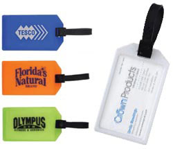 Custom imprinted Business Card Luggage Tag