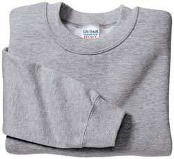 Custom imprinted Gildan Crewneck Sweatshirt