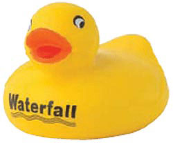 Custom imprinted Stress Reliever - Duck