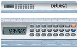 Custom imprinted Calculator Ruler