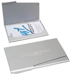 Custom imprinted Business Card Holder