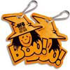 Halloween Boo! Zipper Pull