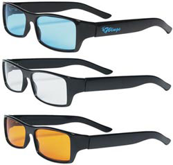 Custom imprinted CLOSEOUT Retro Sunglasses (Promotional Product)