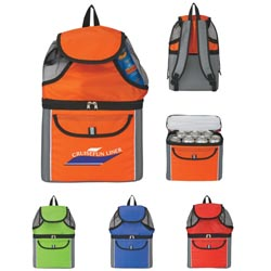 Custom imprinted CLOSEOUT Kooler Backpack